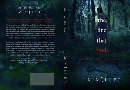 The Line That Binds - J.M. Miller  Cover & Photo by Regina Wamba