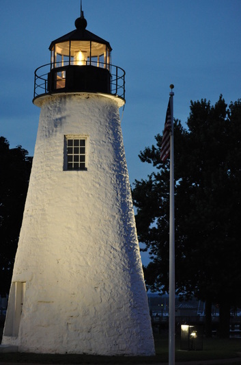 Concord Point Lighthouse - photo by J.M. Miller